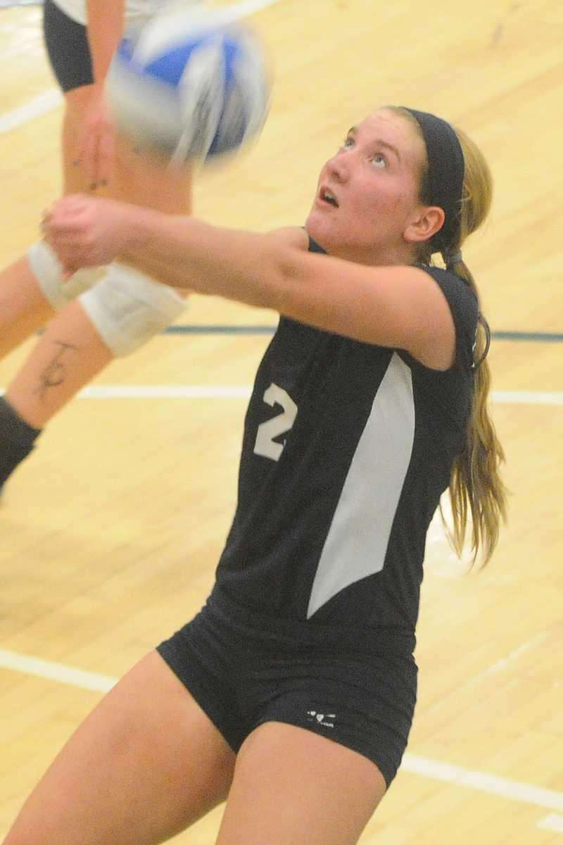 GIRLS VOLLEYBALL SECOND TEAM Erin Bies, Massapequa (pictured)
