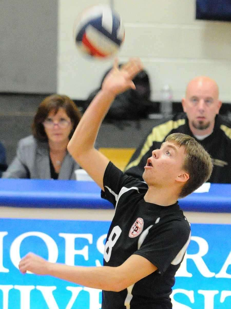BOYS VOLLEYBALL SECOND TEAM Brady Ambro, Northport, senior