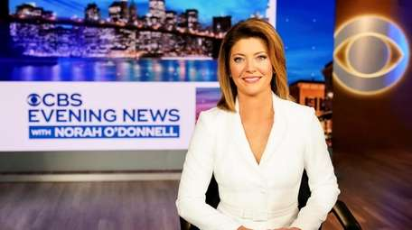 Norah O'Donnell takes over as anchor of the