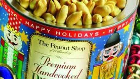 For Christmas, Virginia peanuts are packaged in a