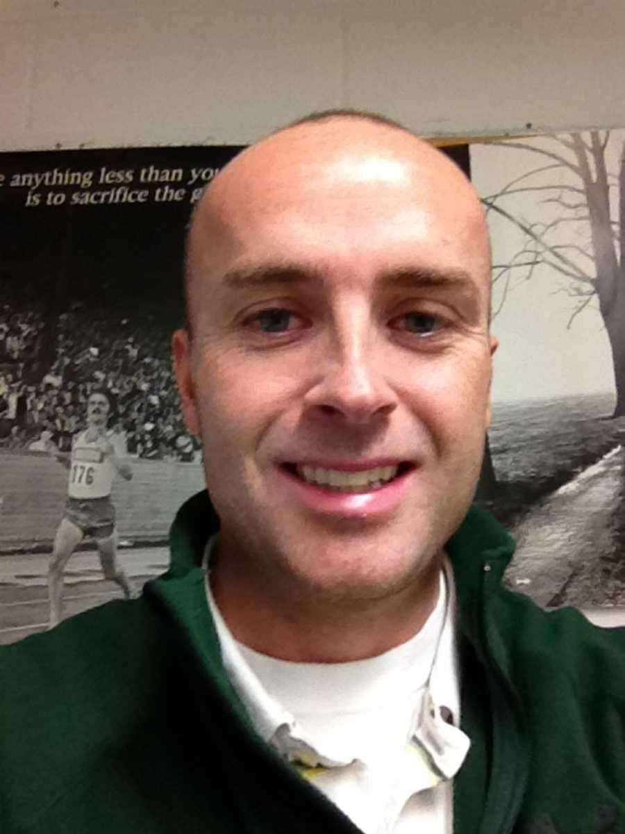 GIRL'S CROSS COUNTRY COACH OF THE YEAR: TOM