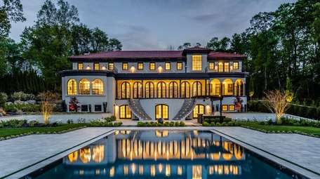 The 2.3-acre Sands Point property comes with a