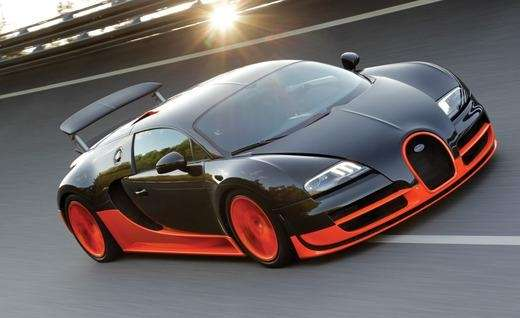 1. Bugatti Veyron Supersport Country of origin: France