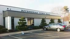Riverhead Town Hall on Howell Avenue, as seen