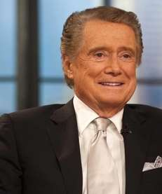 REGIS PHILBIN He went gently, and without tears,
