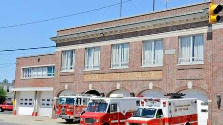 Hicksville's Station 1 houses the Citizens Engine Company.