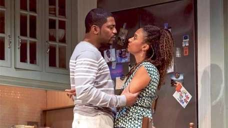 "Mekhi Phifer and and Tracie Thoms in ""Stick"