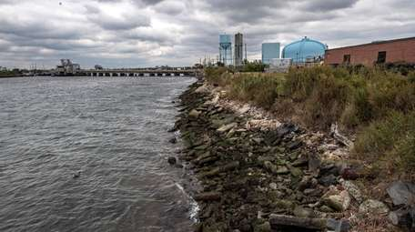 This is the shoreline of critical infrastructure in