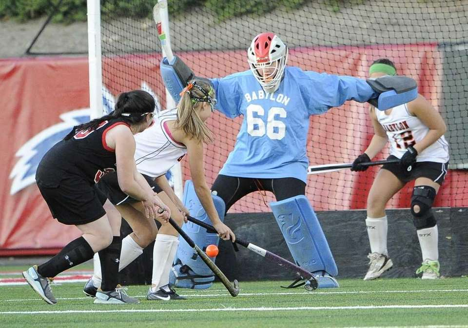 FIELD HOCKEY SECOND TEAM Dottie Barker, Babylon, goalie,