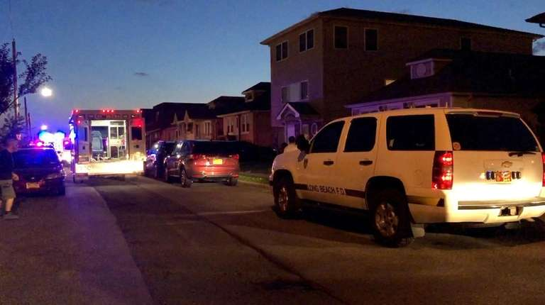 Nassau County police are investigating a possible drowning
