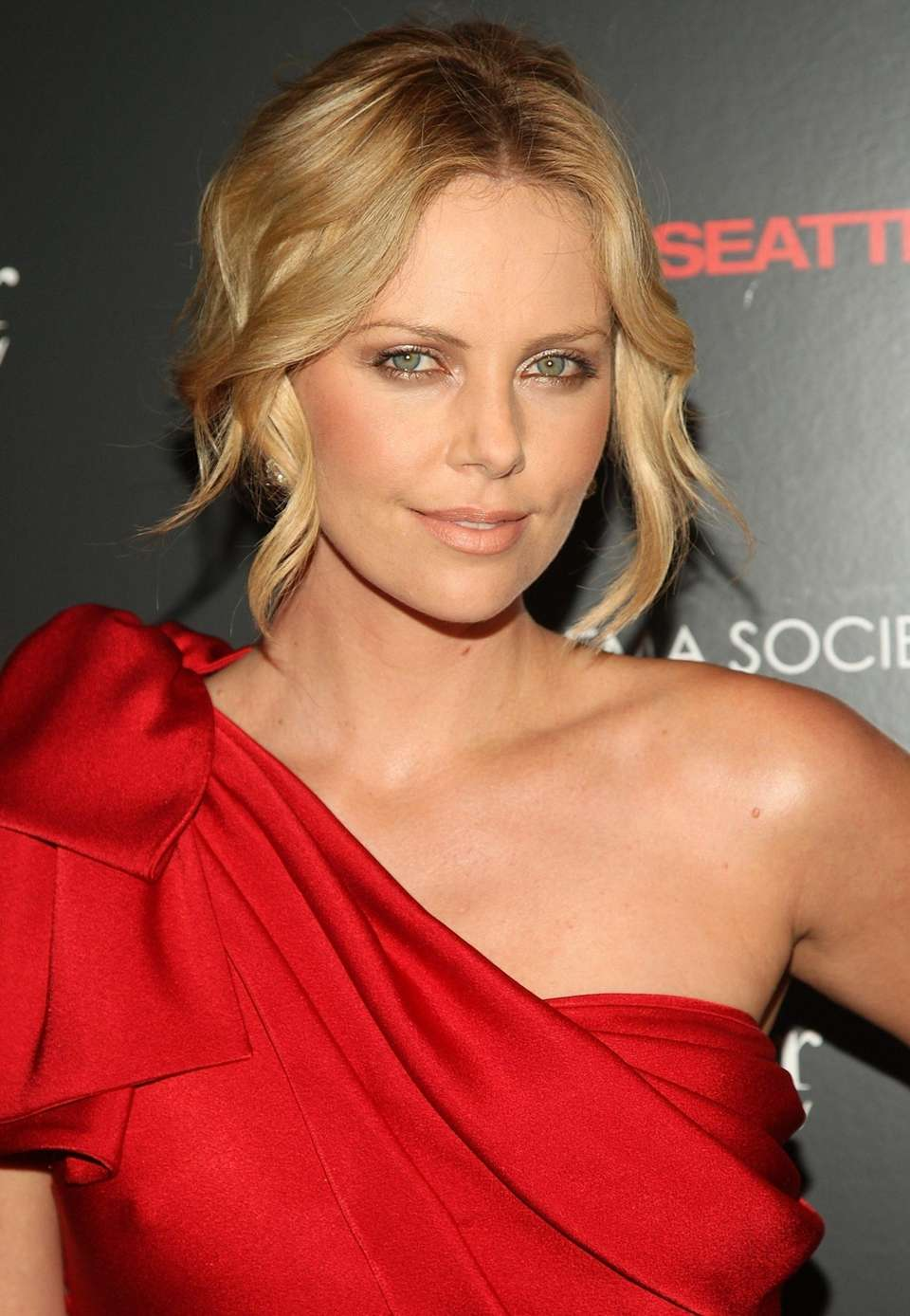Charlize Theron attends a screening of