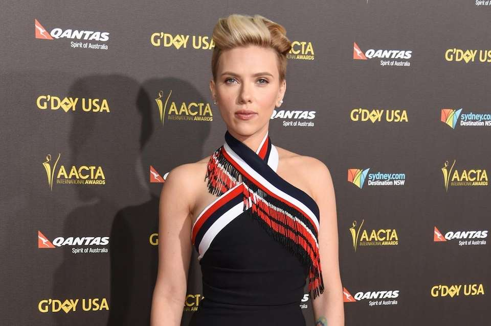 Actress Scarlett Johansson is an ambassador for Oxfam,