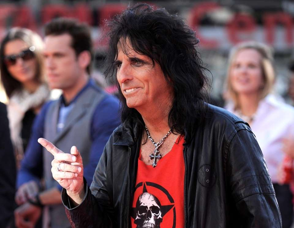 Musician Alice Cooper established the Solid Rock Teen