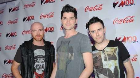 """The band """"The Script"""" at Z-100's Jingle Ball"""