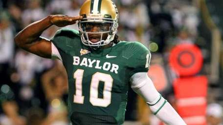 2011: ROBERT GRIFFIN III Quarterback, Baylor Throughout the