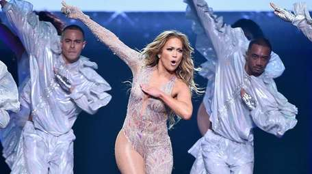 """Jennifer Lopez performs during the """"It's My Party"""""""