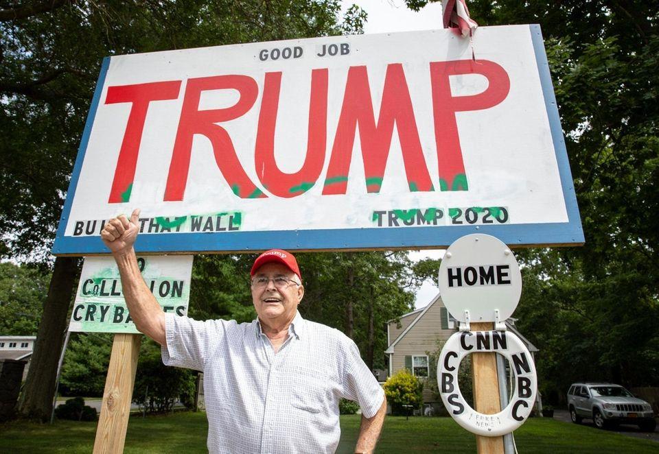 Oakdale resident Allen Herrick is a staunch Trump