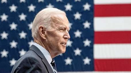 Democratic front-runner and former Vice President Joe Biden