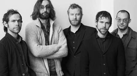 Brooklyn's The National, led by singer Matt Berninger