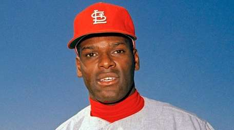 St. Louis Cardinals pitcher Bob Gibson is pictured