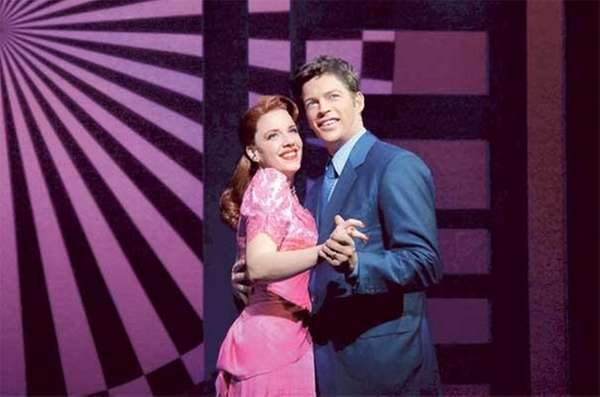 Jessie Mueller, left, and Harry Connick Jr.