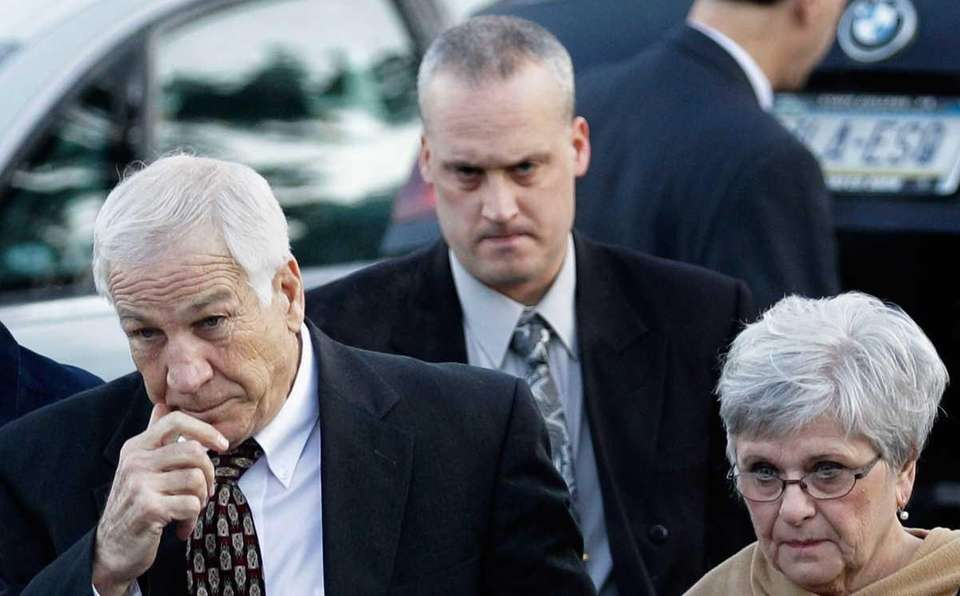 Former Penn State assistant football coach, Jerry Sandusky