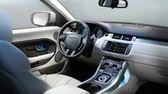 2012 Range Rover Evoque interior.