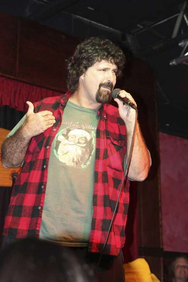 Setauket native and WWE wrestler Mick Foley is