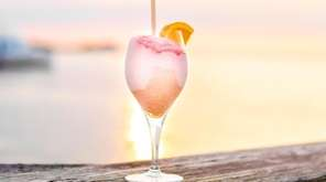 The Frosé at Le Dock