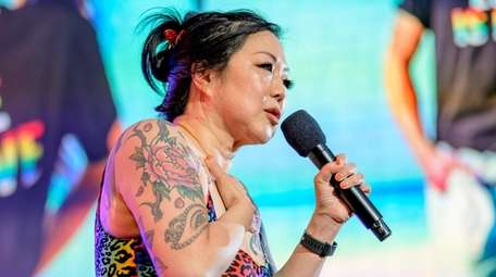 Margaret Cho hosts the closing ceremony of