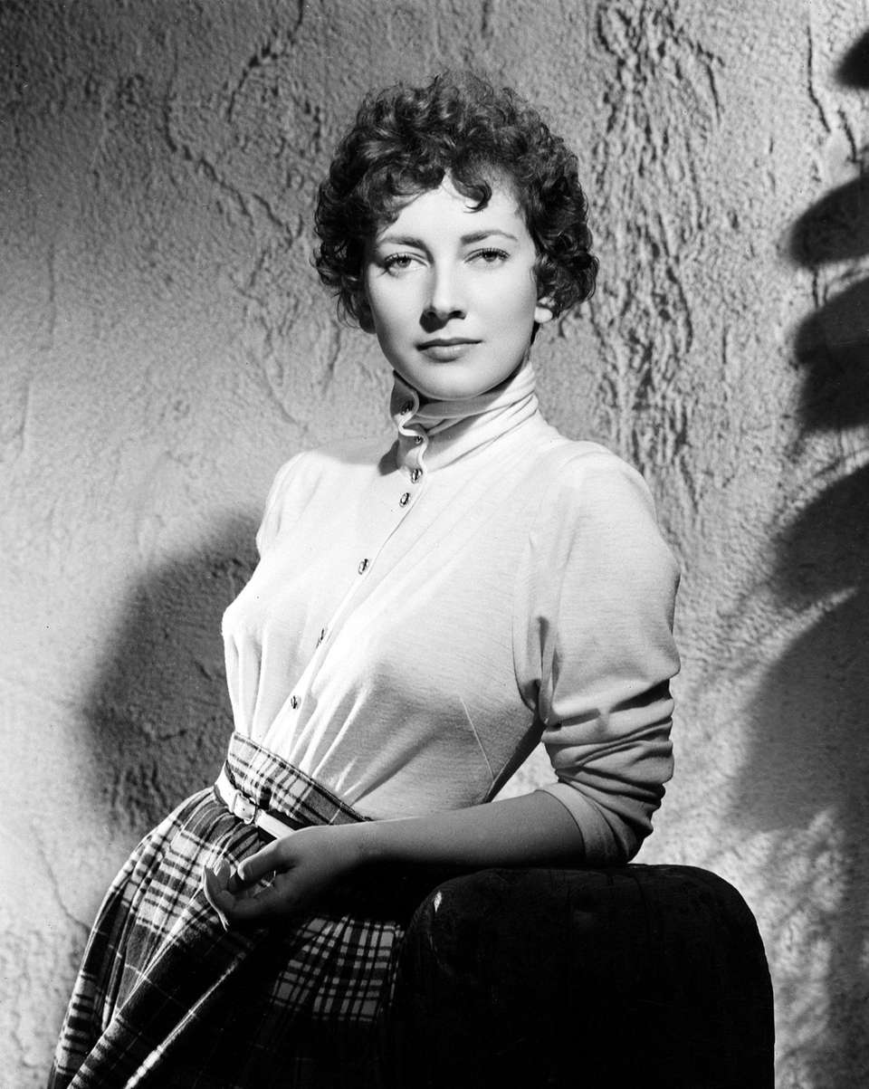 Valentina Cortese, an Italian postwar screen diva who