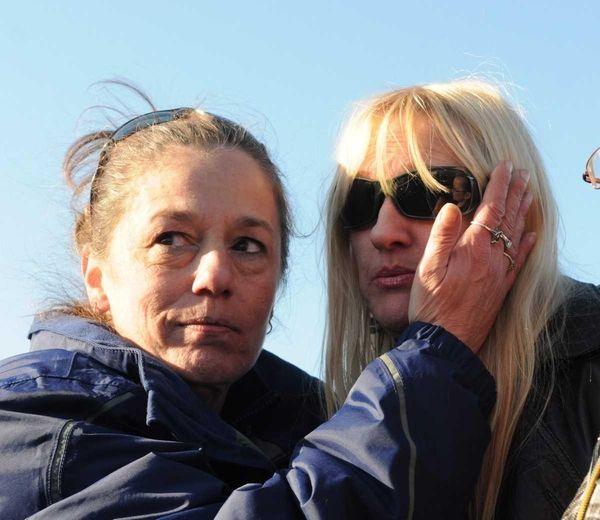 Mari Gilbert, right, mother of Shannan Gilbert, is
