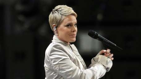 Pink is being criticized for posting a