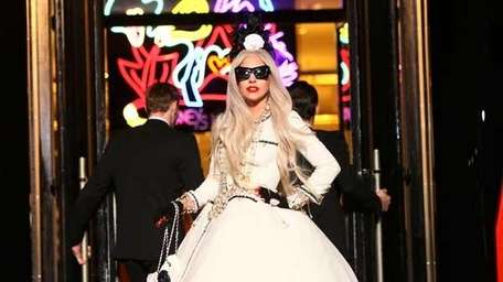Lady Gaga attends Gaga's Workshop Ribbon Cutting at