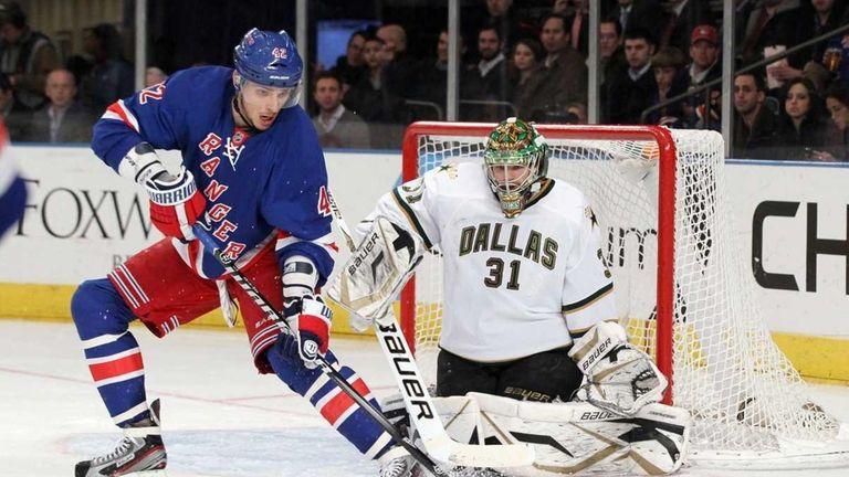 Artem Anisimov #42 of the New York Rangers