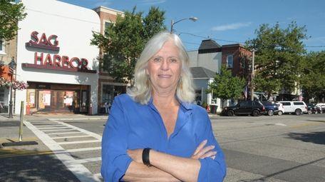 Sag Harbor Mayor Kathleen Mulcahy used her website