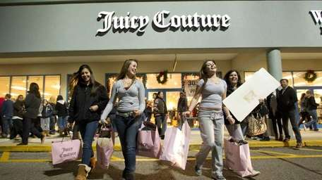 Black Friday shoppers hit Tanger Outlets in Riverhead.