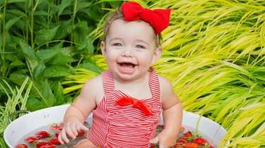 Our 10 month old granddaughter Rylee Weiner-her Mom
