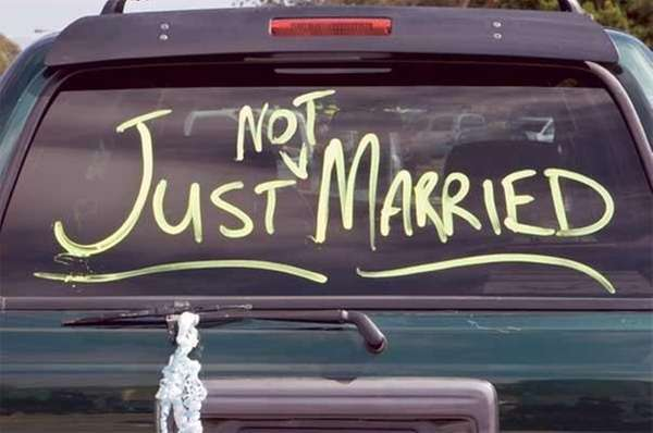 not just married
