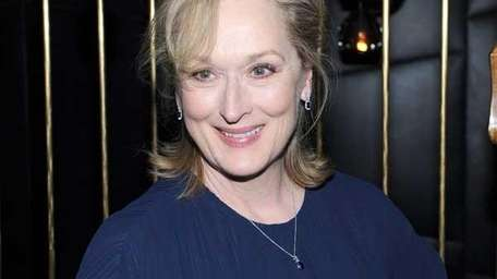 Meryl Streep at the premiere of 'Iron Lady'
