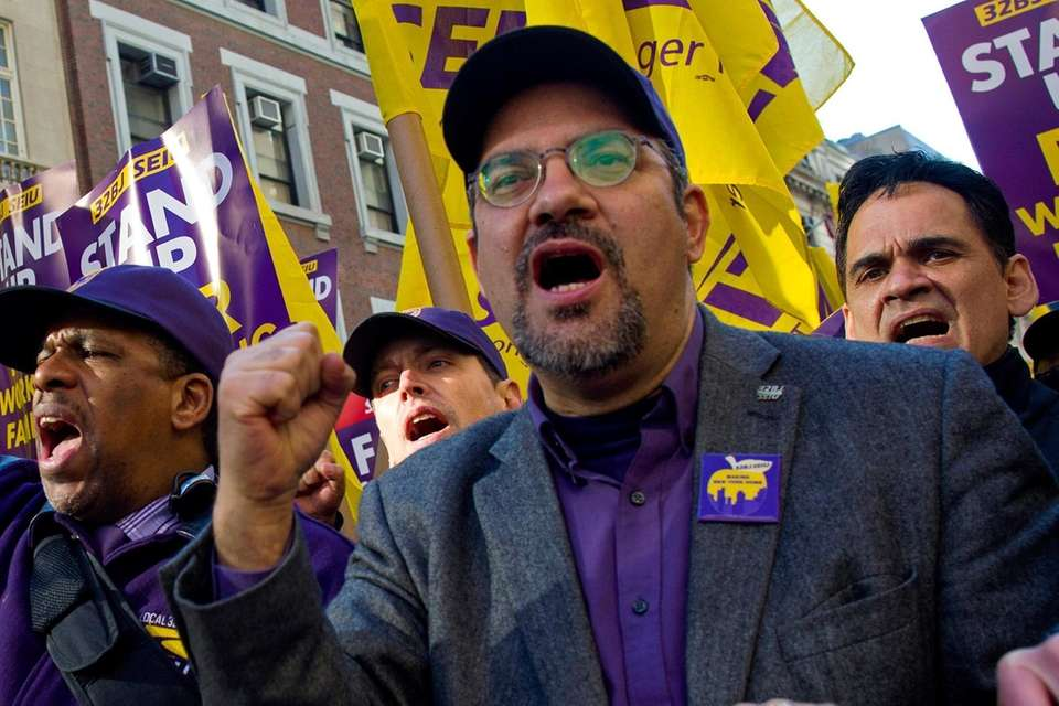 Hector Figueroa, president of a union representing 175,000