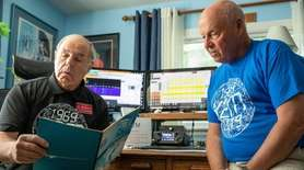 Great South Bay Amateur Radio Club members celebrated