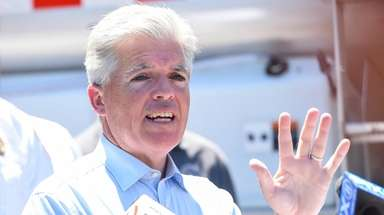 Suffolk County Executive Steve Bellone on July 1.