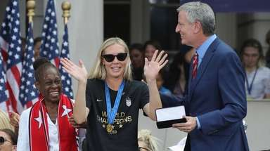 Allie Long of the United States women's national