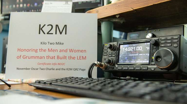 Great South Bay Amateur Radio Club members celebrate