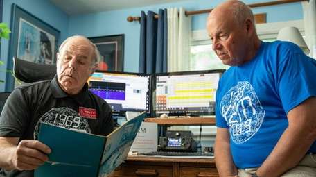 Great South Bay Amateur Radio Club members and