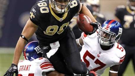 New Orleans Saints tight end Jimmy Graham (80)