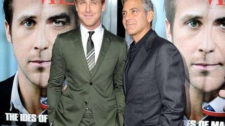Ryan Gosling and George Clooney. (Getty Images)