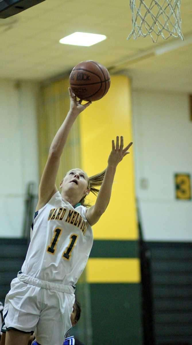 Ward Melville G Caysea Cohen #11 puts in