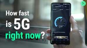 5G is in its infancy, with patchy coverage